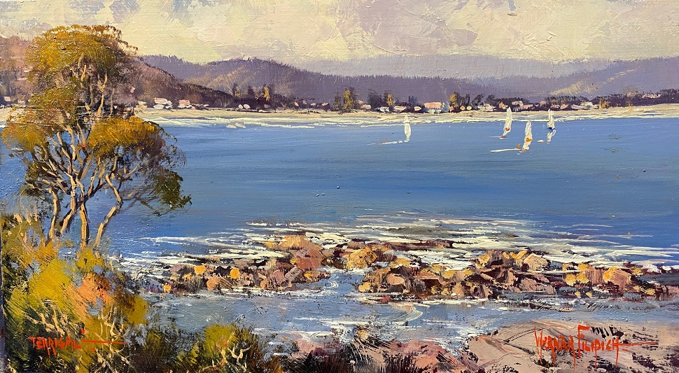 Painting 1-Terrigal-Werner Filipich