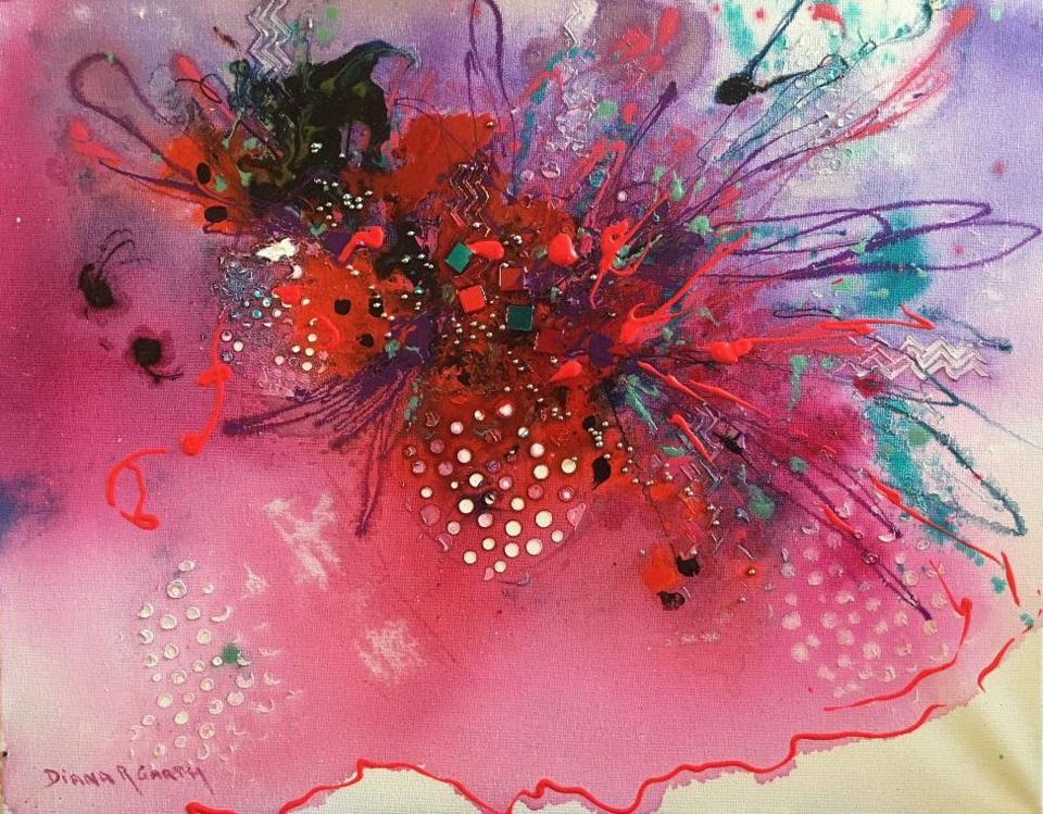 Painting 3-Mardi Gras-Diana Garth