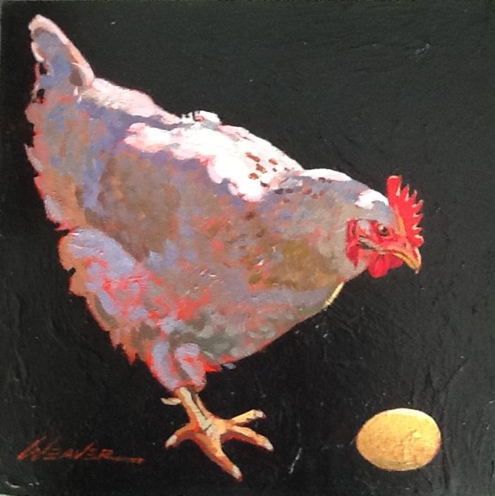 Painting 4-Is that Mine-Marlene Weaver