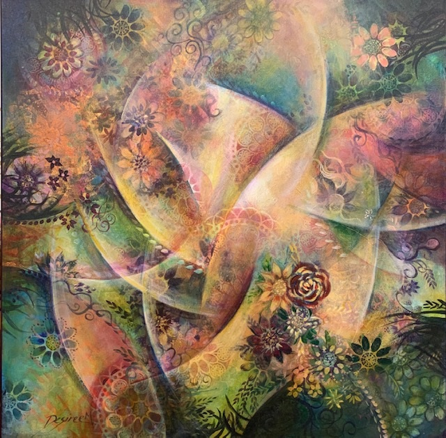 Painting 6-Kaleidoscope-Desiree Martin