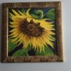 Acrylic_Sunflower_Framed