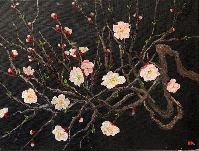 Painting 10-Sakura-Iryna White