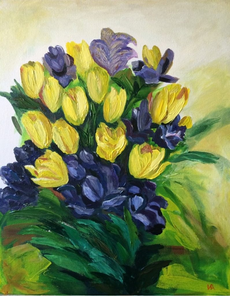 Painting 11-Flowers-Iryna White