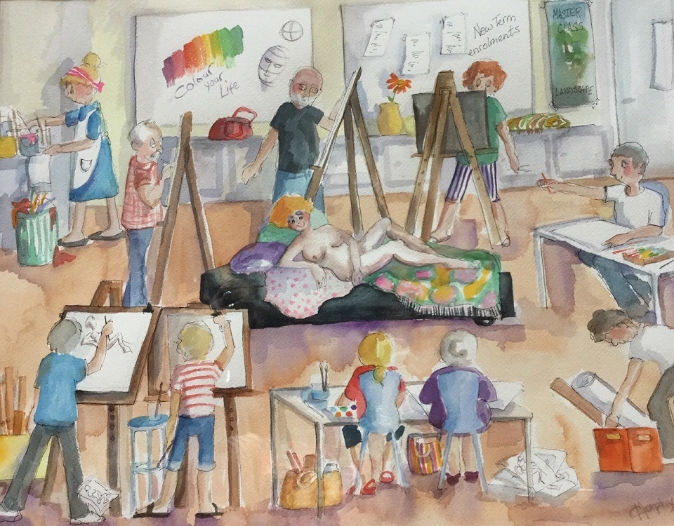 Painting 15-Art Class-Catherine Murphy