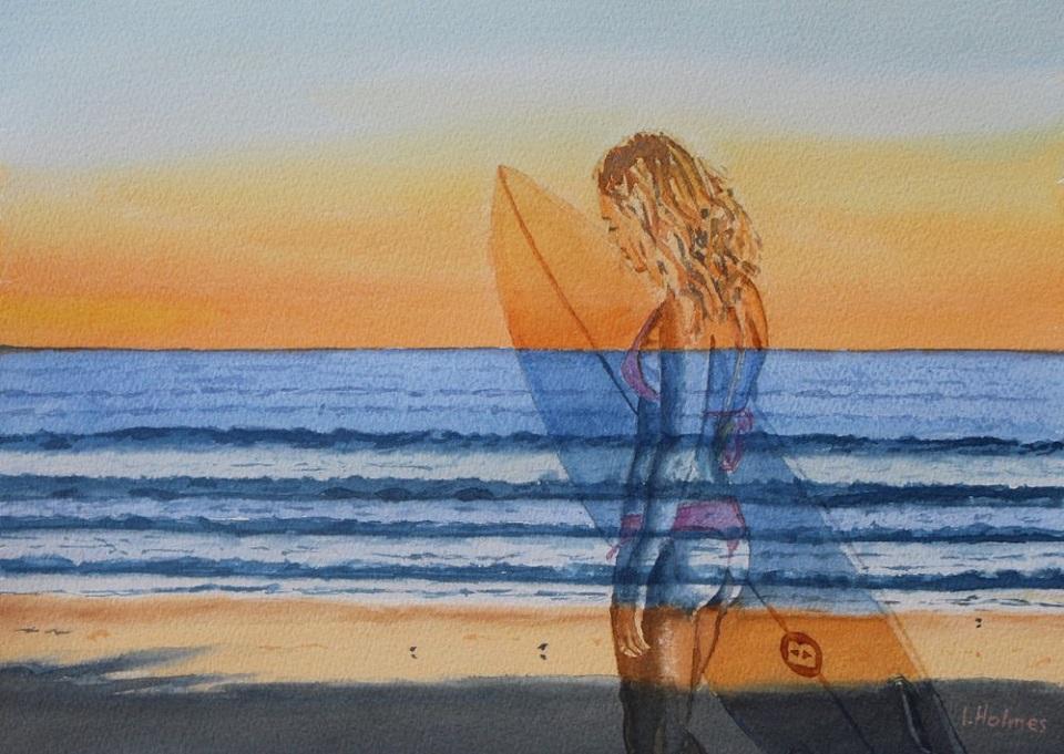 Painting 16-Beach Dream-Ian Holmes