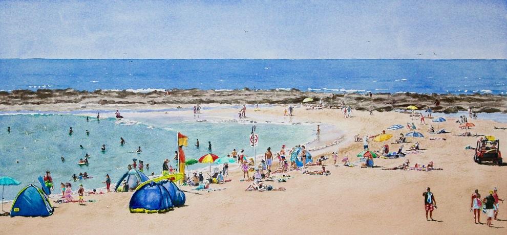 Painting 17-Toowoon Bay NSW-Ian Holmes