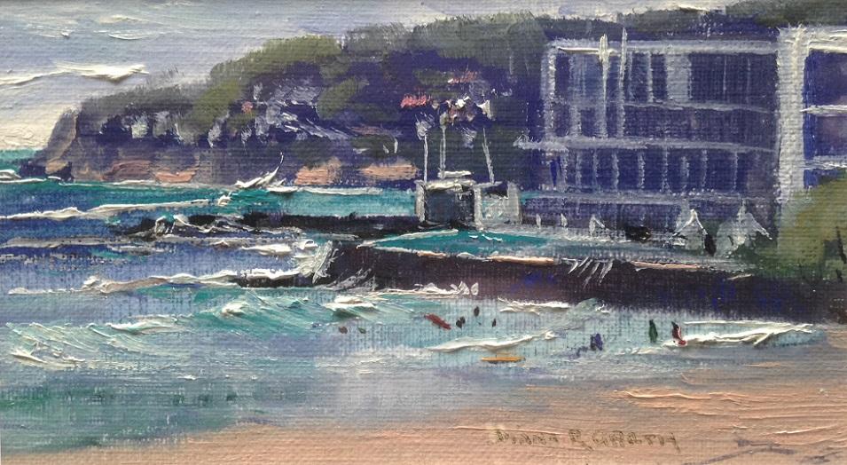 Painting 20-A Day at Bondi-Diana Garth