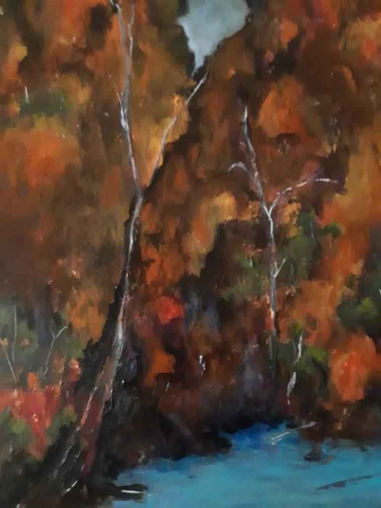 Painting 30-Standley Chasm-Dorothy Rae Sullivan