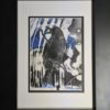 Painting 33b-Blackbird-Kym Morris