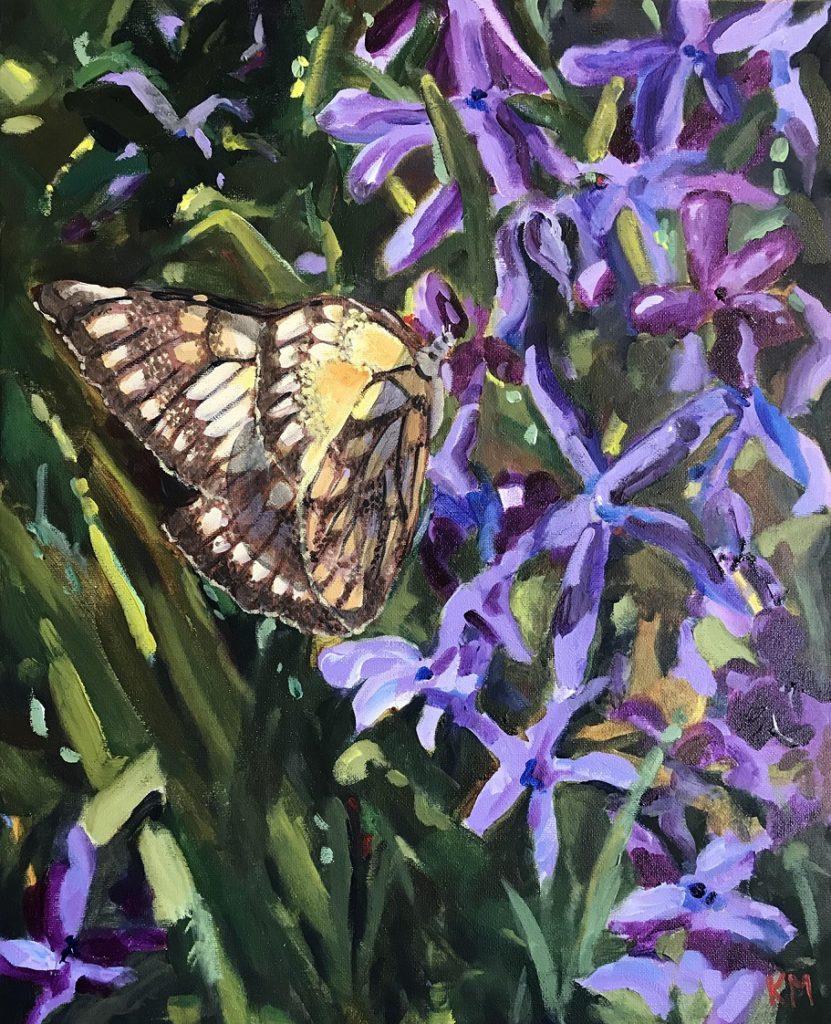 Painting 34-In Laurels Garden' Kym Morris
