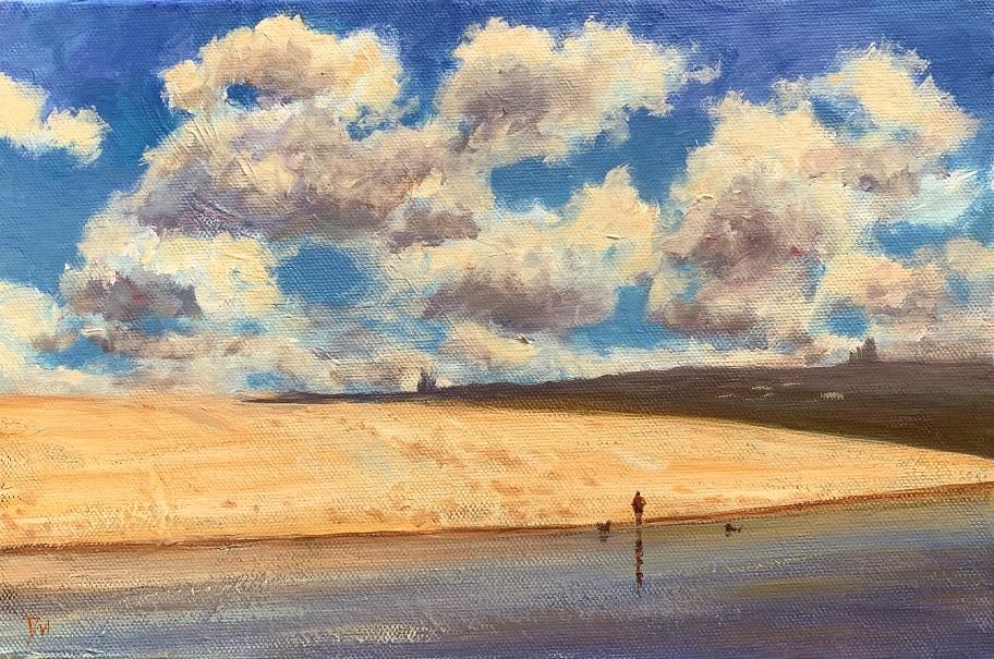 Painting 51-Curl Curl Beach-Shelly Du Hui