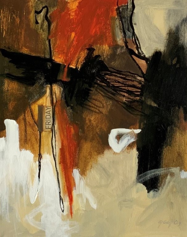 Painting 54-Friday-Glenda Carter