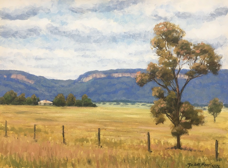 Painting 62-Nile Creek Farm, Capertee Valley-Deidre Morrison