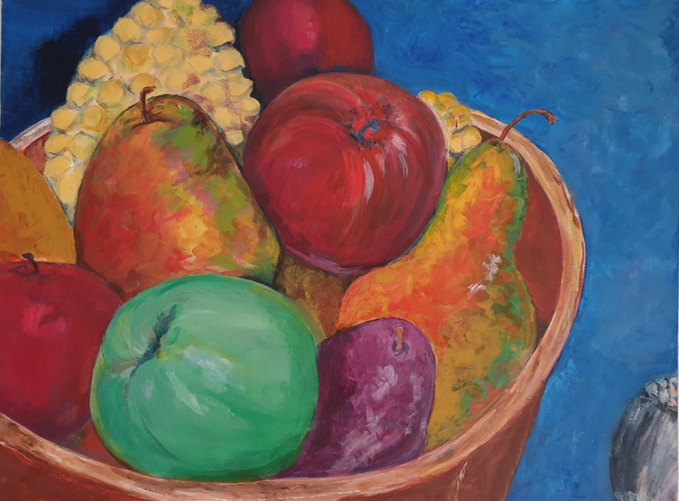 Painting 66-Fresh Fruit-Angela Panzarino