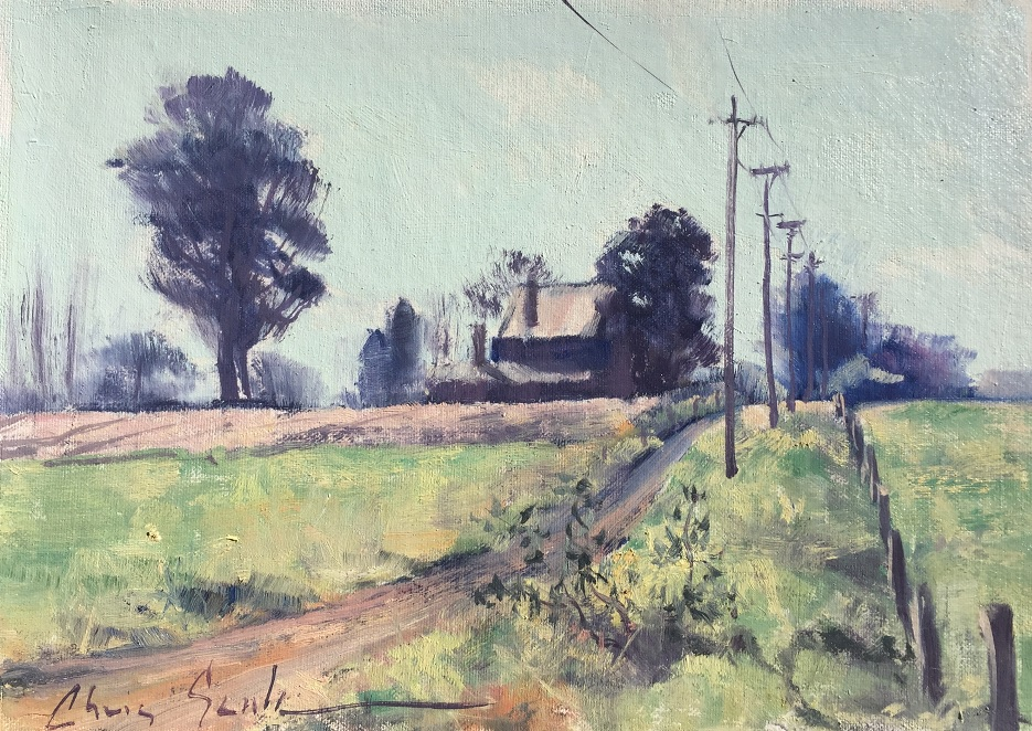 Painting 71-Misty Morning-Chris Seale