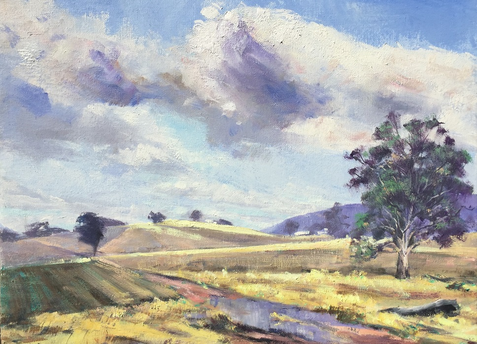 Painting 75-Touched by The Sun-Chris Seale