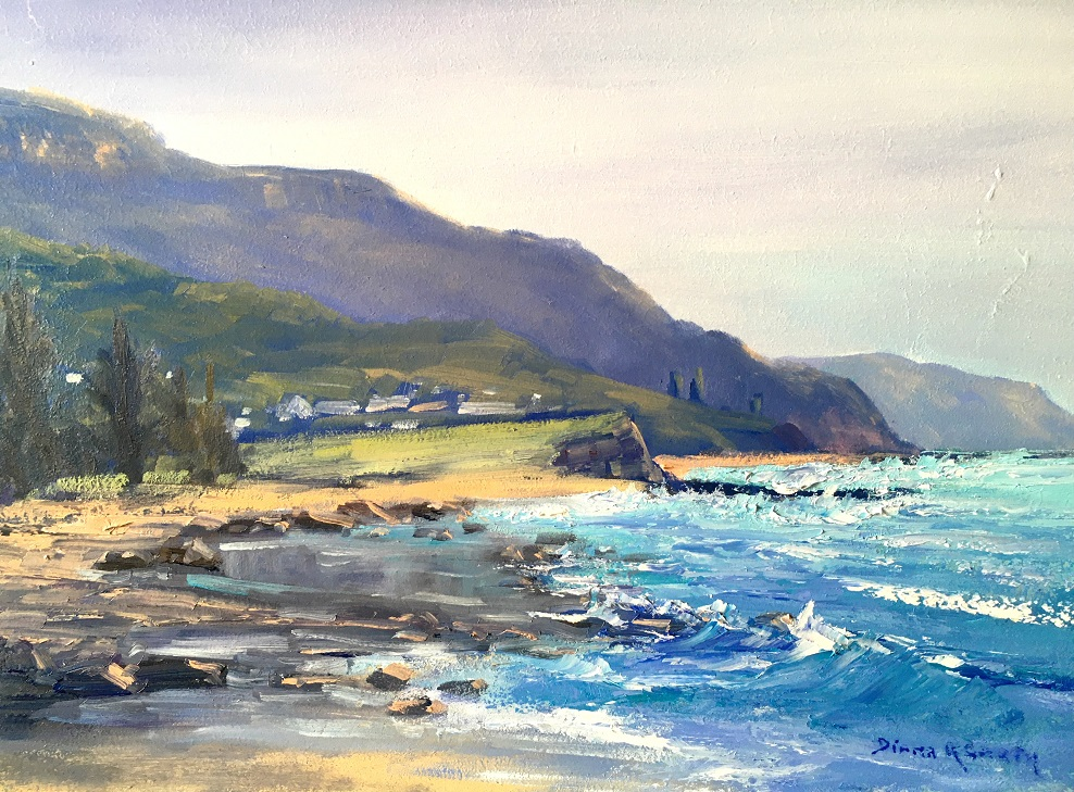 Painting 82-Headland at Austinmer-Diana Garth