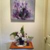 on wall Iris