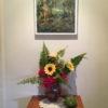 on wall illawarra lilies