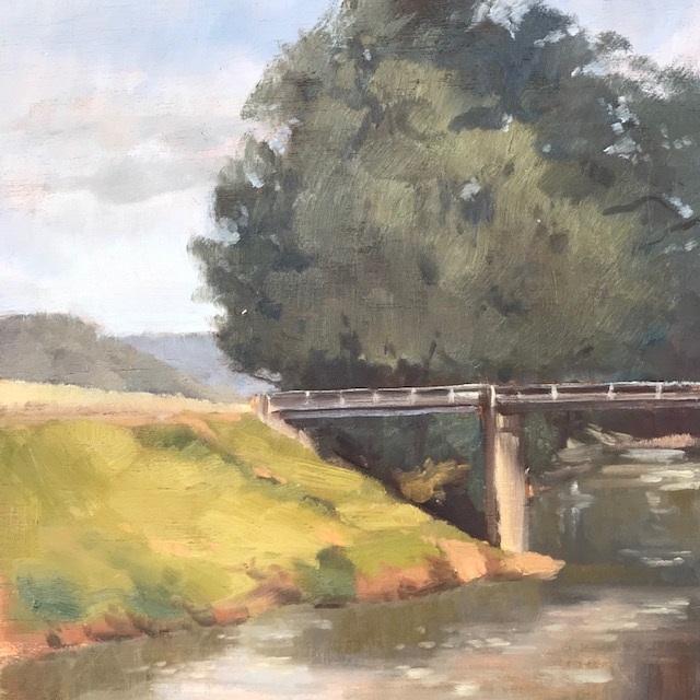 Painting 107-Kangaroo Valley-Pamela Luttrell