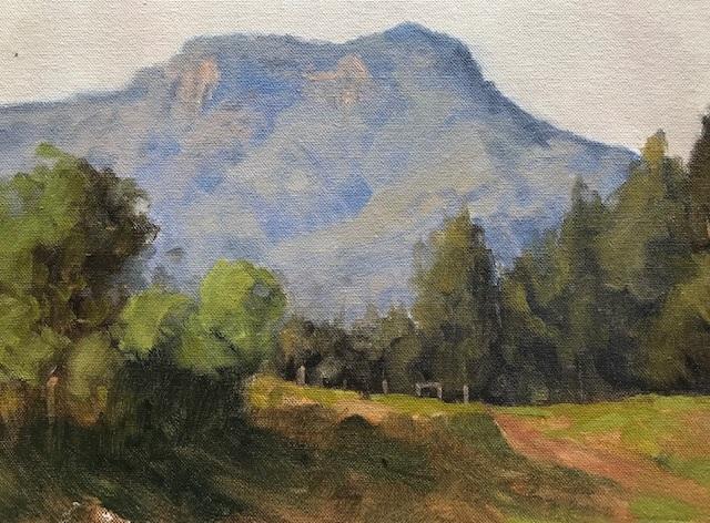 Painting 108-Kangaroo Valley-Pamela Luttrell