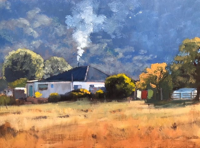 Painting 116-Dunville Loop Farm-Pamela Luttrell