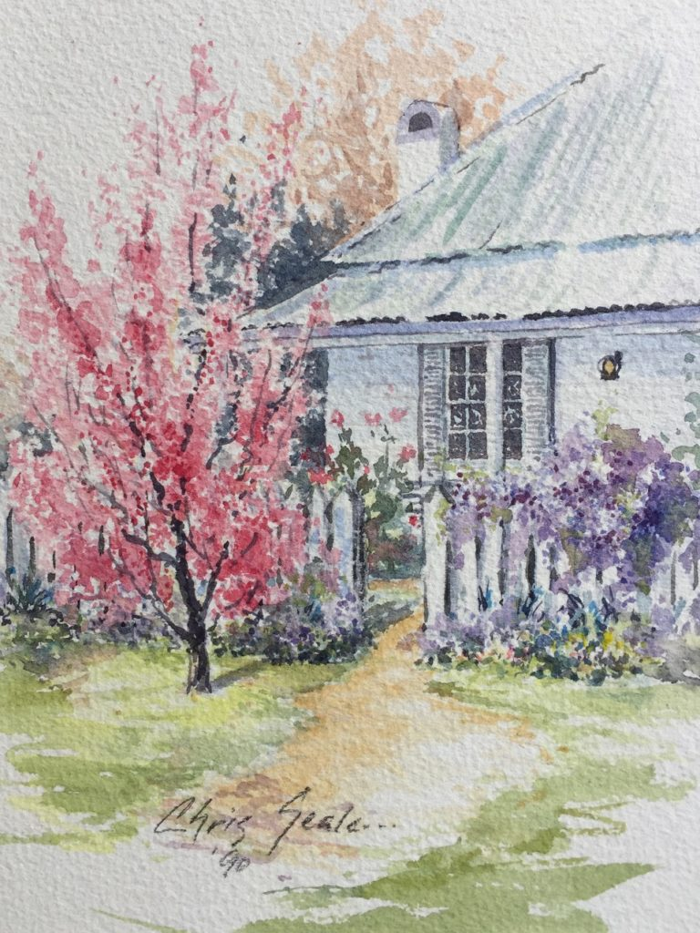 Painting 130-Colours of Spring-Chris Seale
