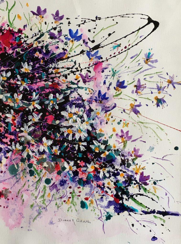 Painting 132-The Fairy Garden-Diana Garth