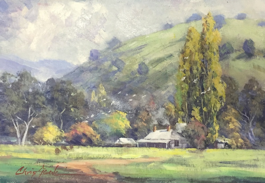 Painting 88-Country Charm-Chris Seale