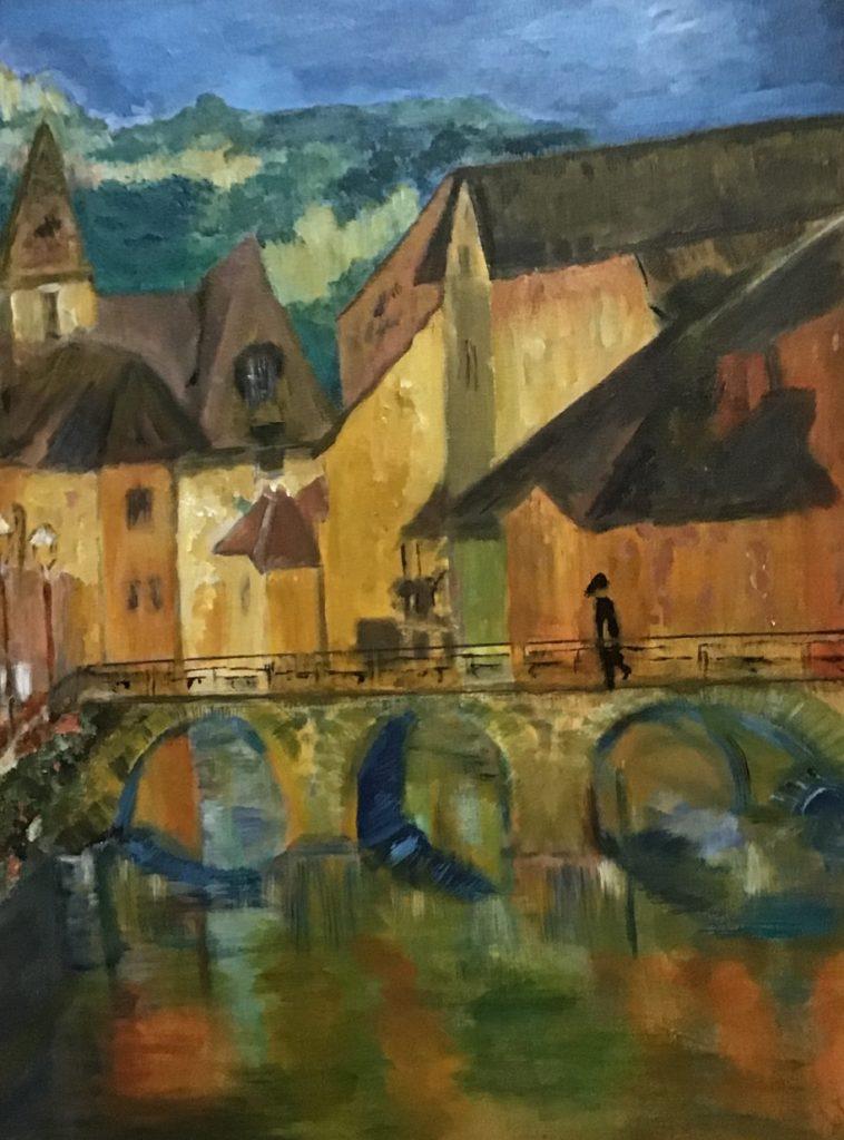 Painting 90-Feelings of Europe-Catherine Feder