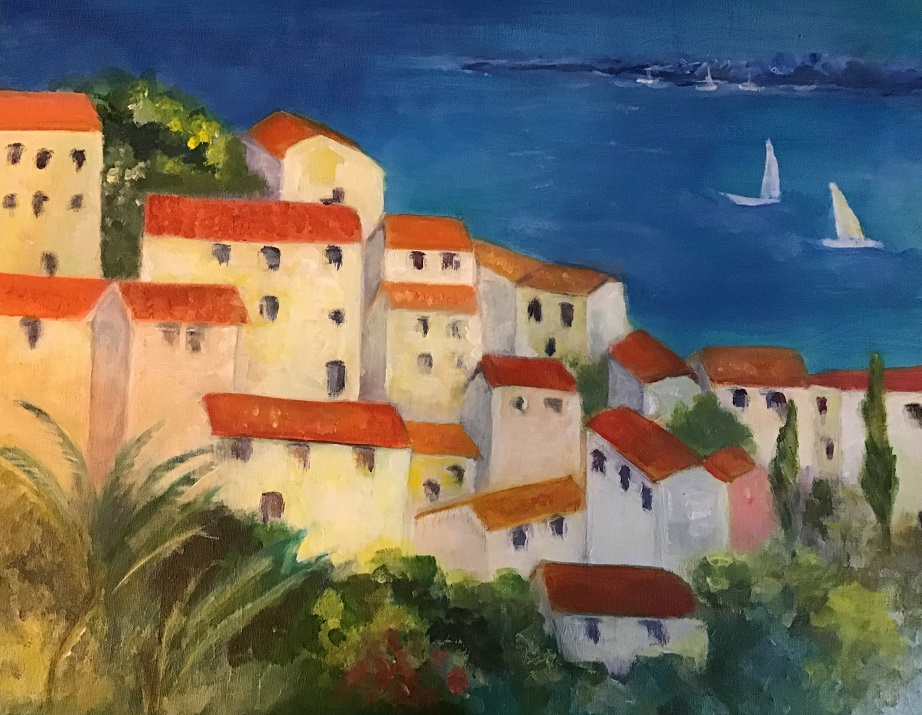 Painting 91-The Colours of the South of France-Catherine Feder