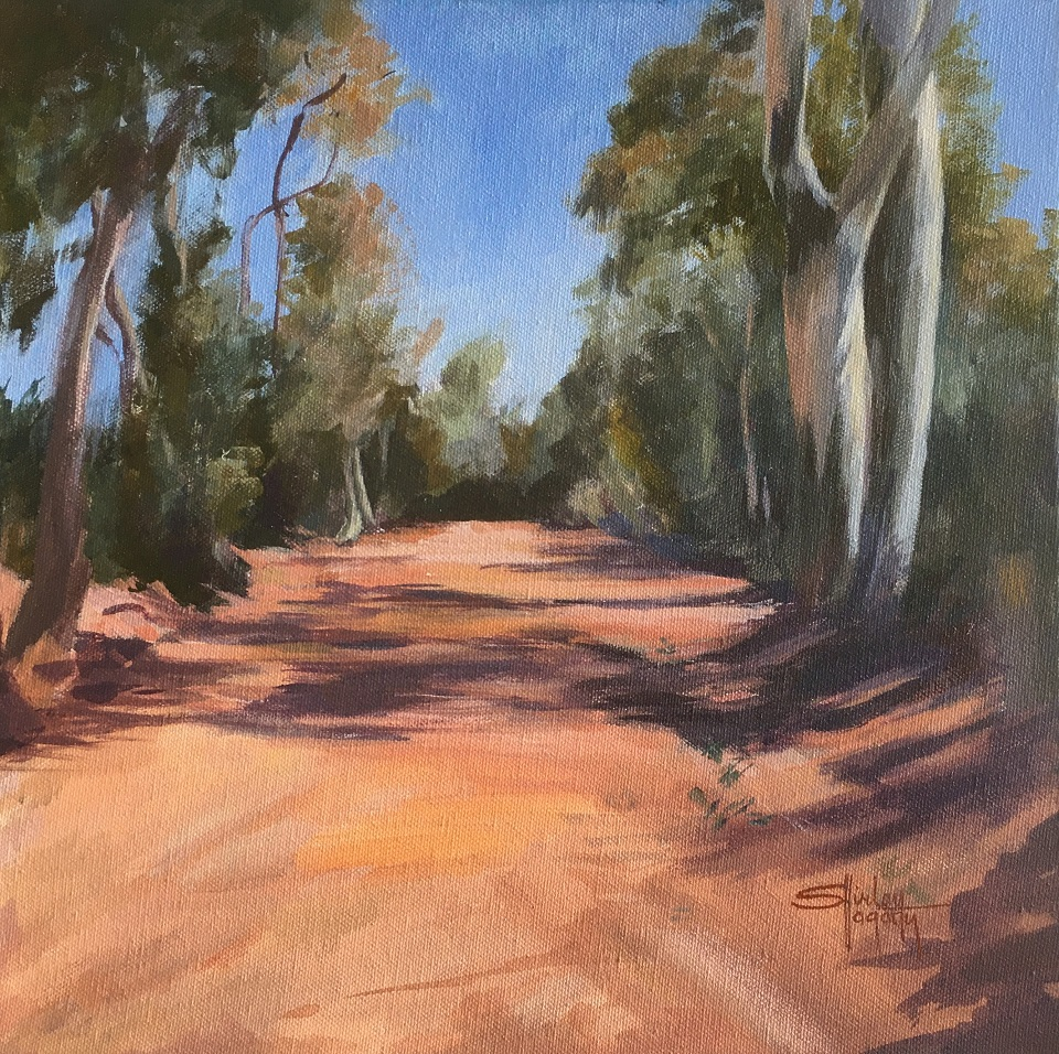 Painting 97-Red Centre Drought-Shirley Hagarty